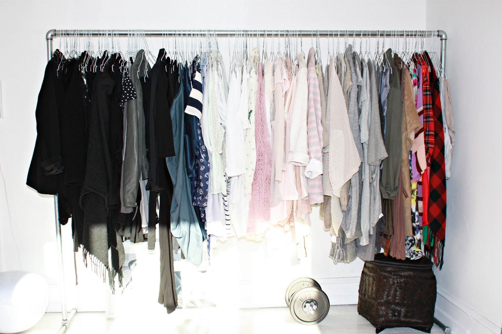 stativ til tøj