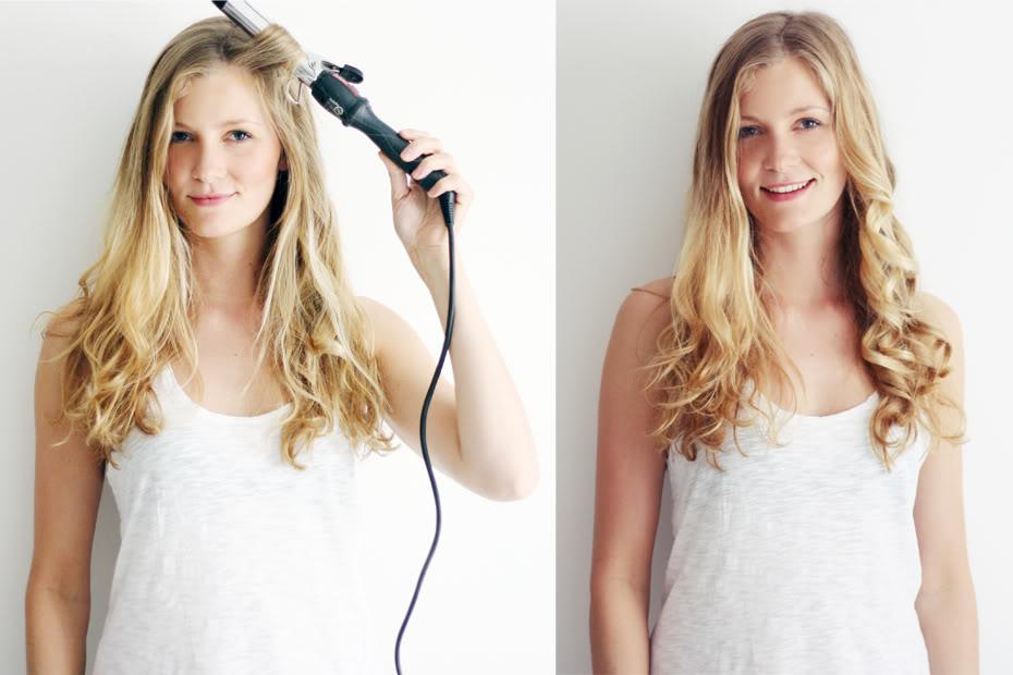 hår krøllejern