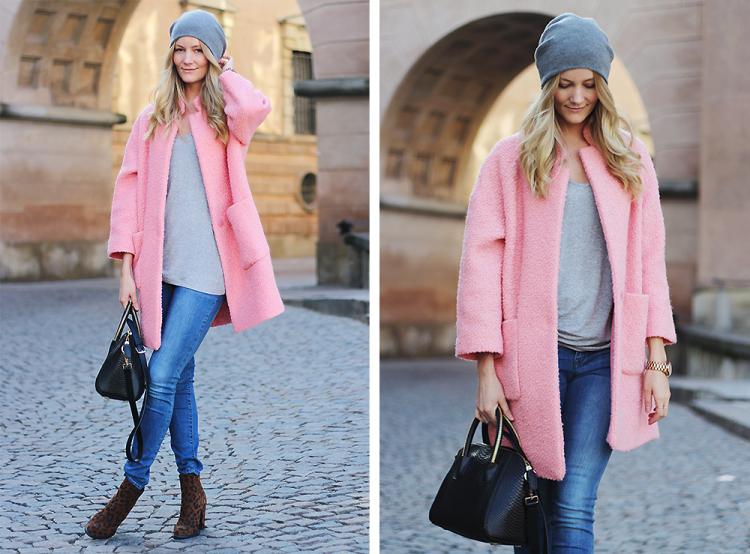 pink coat copy