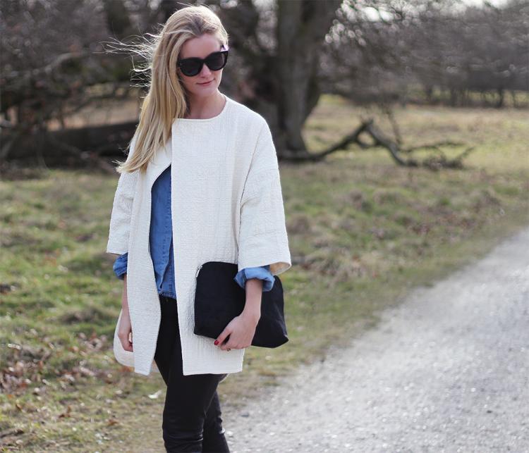 frakke jakke asos modeblog fashion blogger danmark forår outfit ootd styling designer læder
