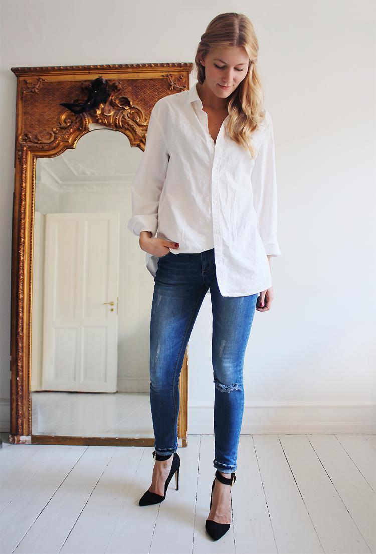 jeans modblog fashion blog blogger danmark asos H&M boyfriend blonde girl mirror apartment lejlighed københavn  copy