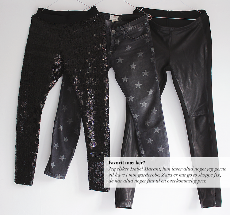 pailletbukser modeblog fashion blog blogger current elliott star jeans læderbukser black noir copy