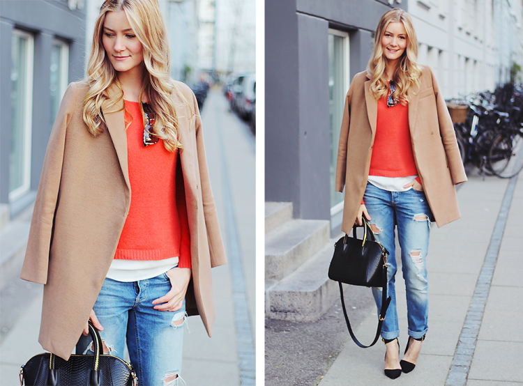 part two mode modeblog fashion blog blogger camel coat forårsjakke boyfriend jeans styling stylist danmark shopping online webshop københavn