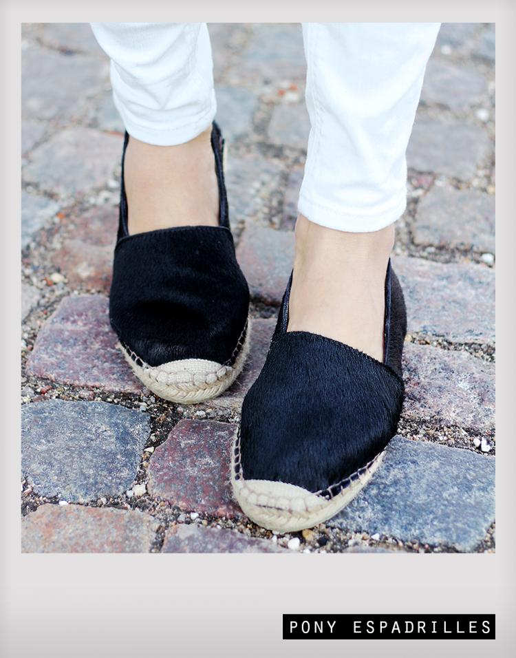pony espadrillos espadrilles slipons ponyhair modeblog fashion blog blogger