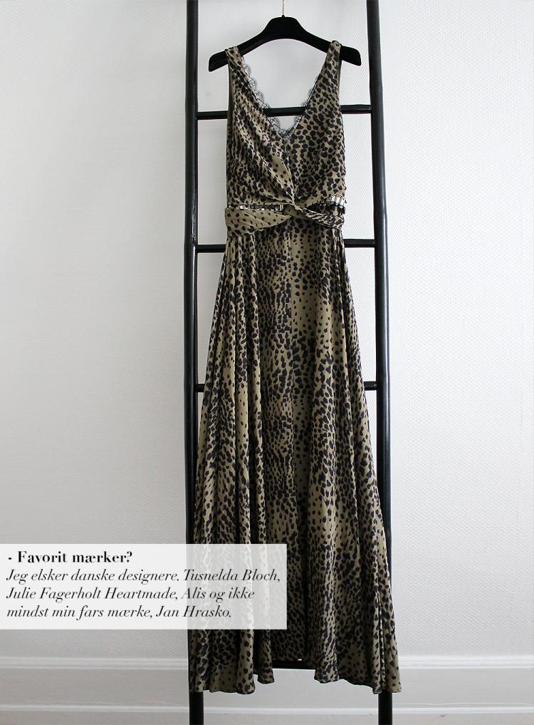 heartmade kjole bryllupsgæst kjole sommerbryllup modeblog fashion blog heartmade leopardkjole blonder armygrøn stige copy
