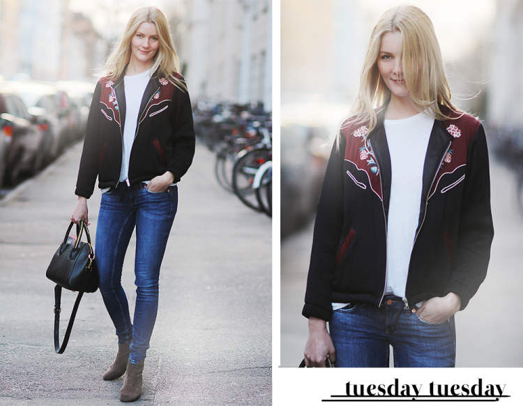 isabel marant bomber jacket bomberjakke IM modeblog fashion blog blogger danmark københavn shopping styling outfit