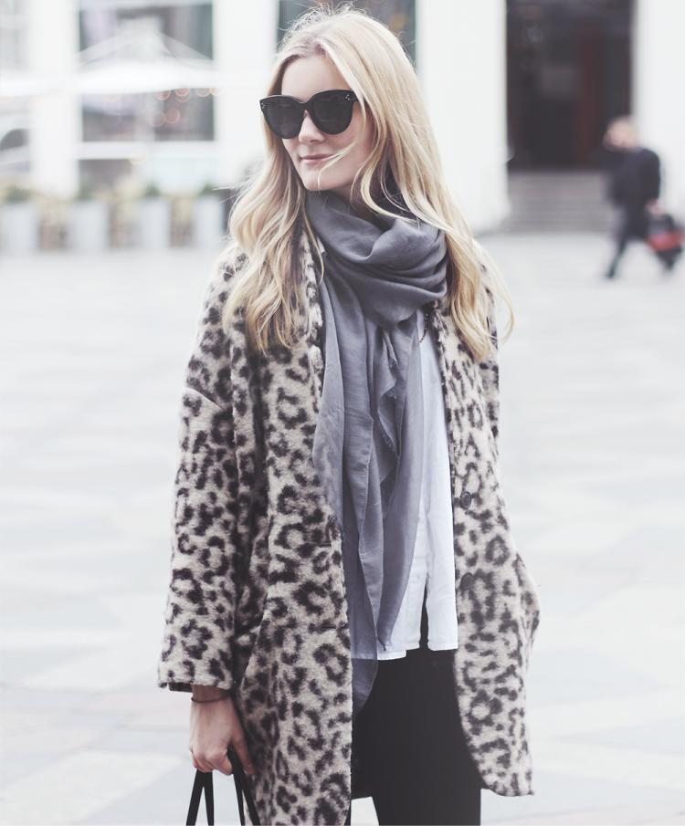 leopard jakke