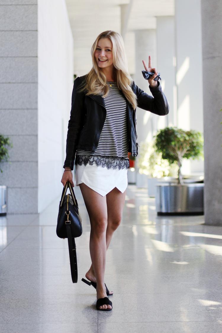 skorts zara modeblog fashion blog malaga lufthavn storbyferie