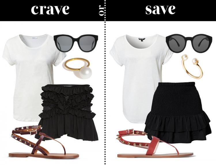 craveorsave luxuryvsbudget isabelmarant notion1.3 zara valentino modeblog