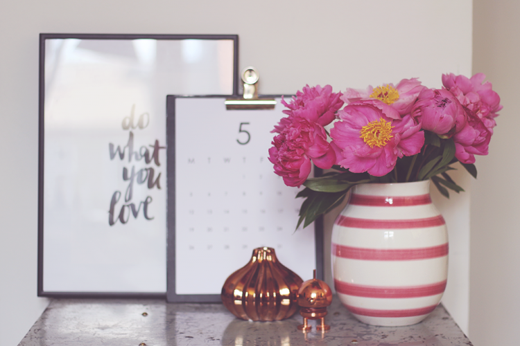 kähler stilleben vase blomster