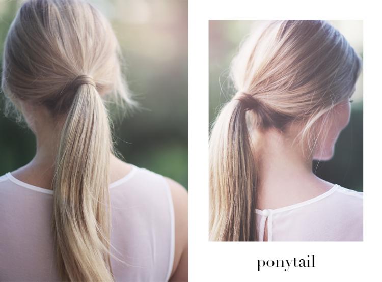 ponytail hestehale