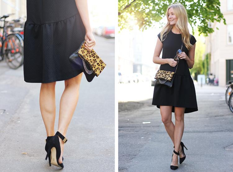 sortkjole modeblog fashionblog blogger outfit fashion styling sommer kjole