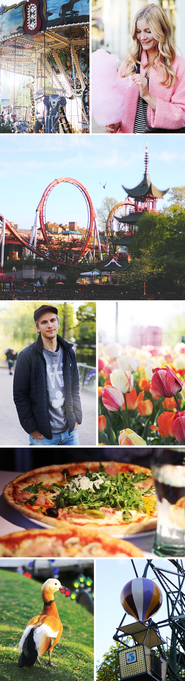 tivoli københavn turist modeblog fashionblog blogger forår springtime spring