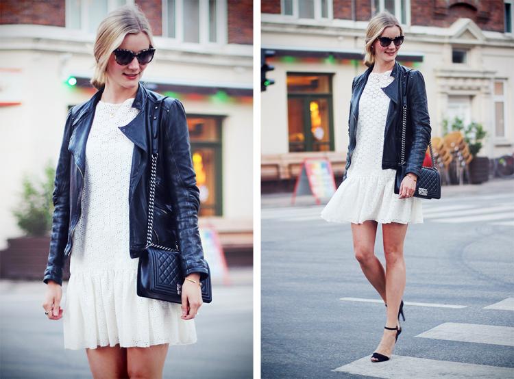 lace dress modeblog