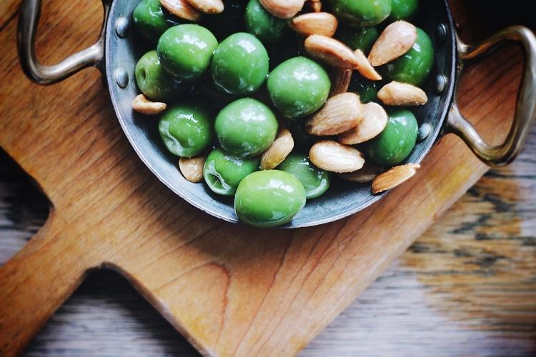 oliven nødder