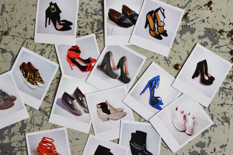 skoæske shoes sko stiletter fladesandaler leopardstøvler mode slipons
