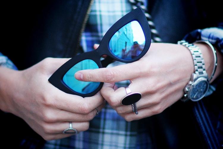 spejlsolbriller