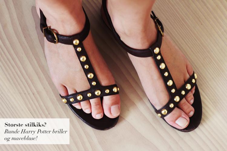 studded sandals copy