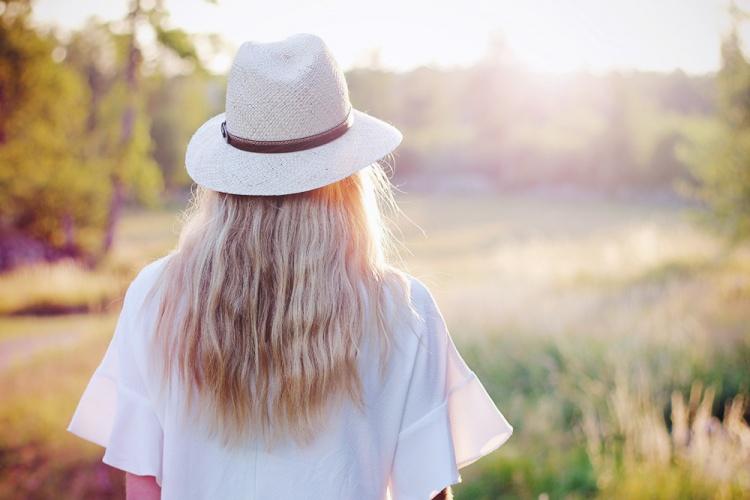 bølget hår