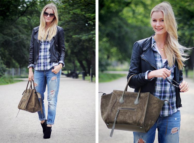 célinephantom modeblog fashionblog céline bag suede