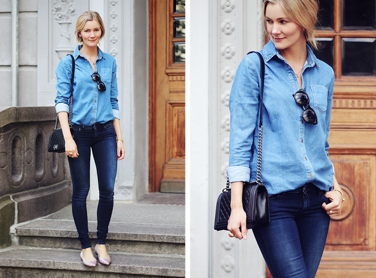 denim shirt denimskjorte