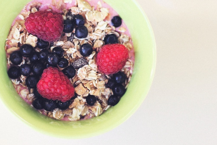 hindbær morgenmad