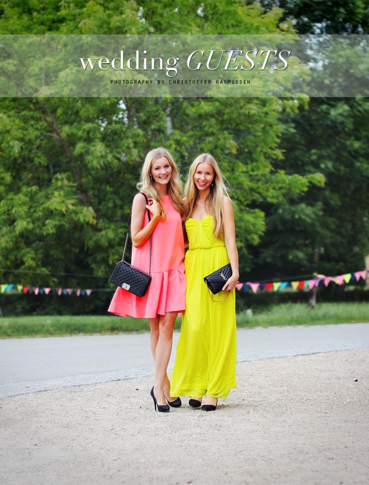 kjoler som gæst til bryllup