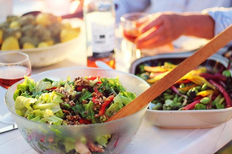 salat made homemade