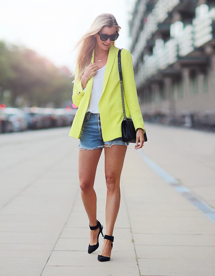 gul blazer