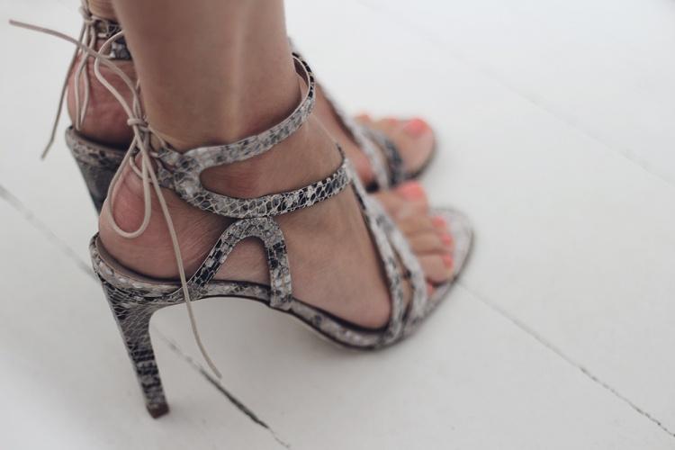 phyton sandals