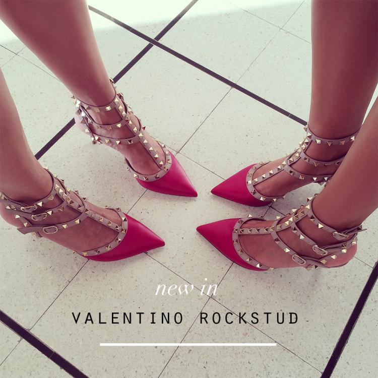 valentino rockstud kitten heels