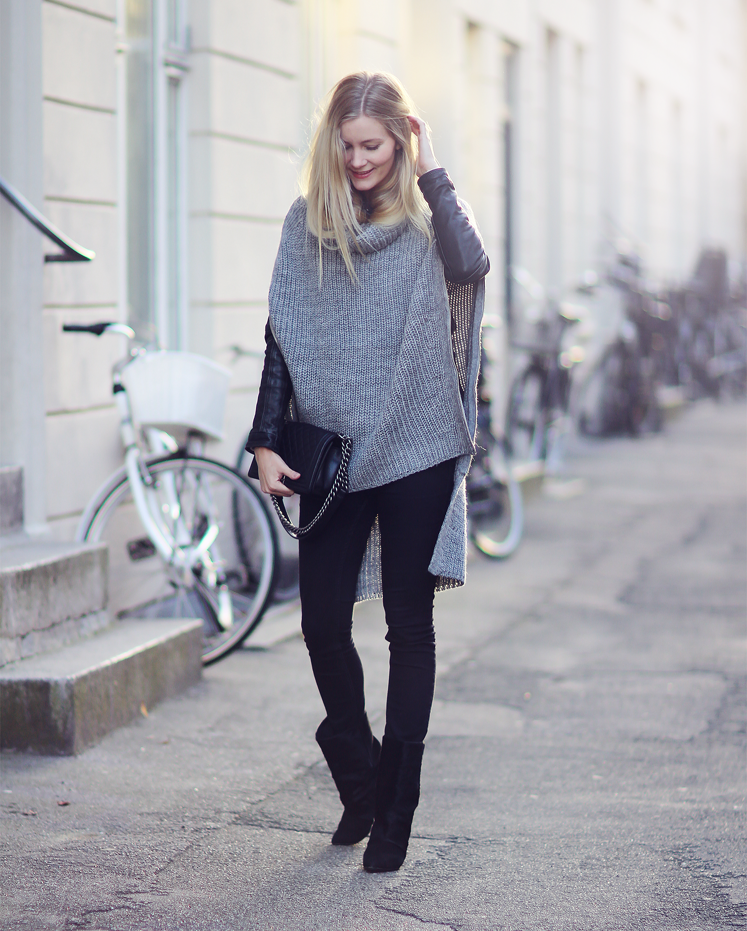 sandal med fast kappe