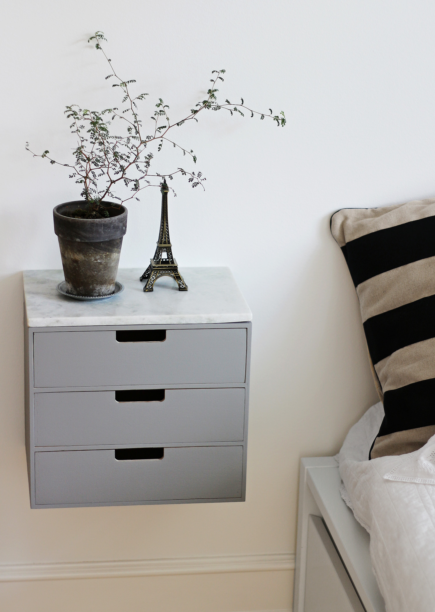 Picture of: Diy Bedside Table Christina Dueholm