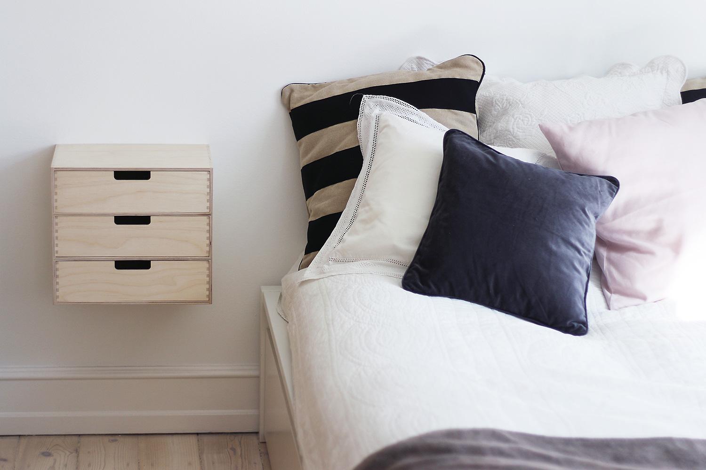 DIY bedside table - Christina Dueholm