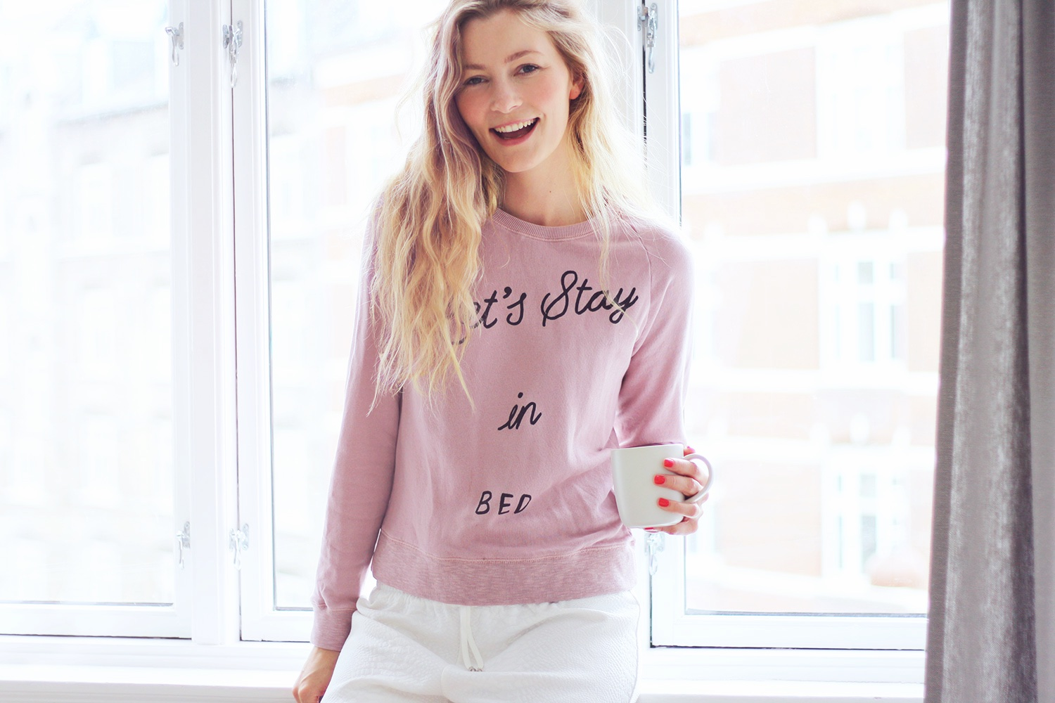 lets-stay-in-bed sweatshirt@2x