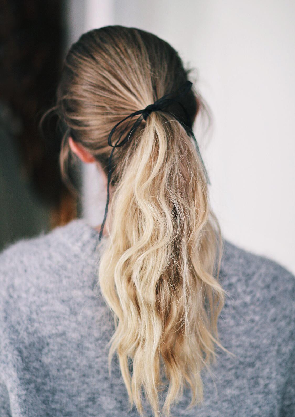 hestehale-håropsætning
