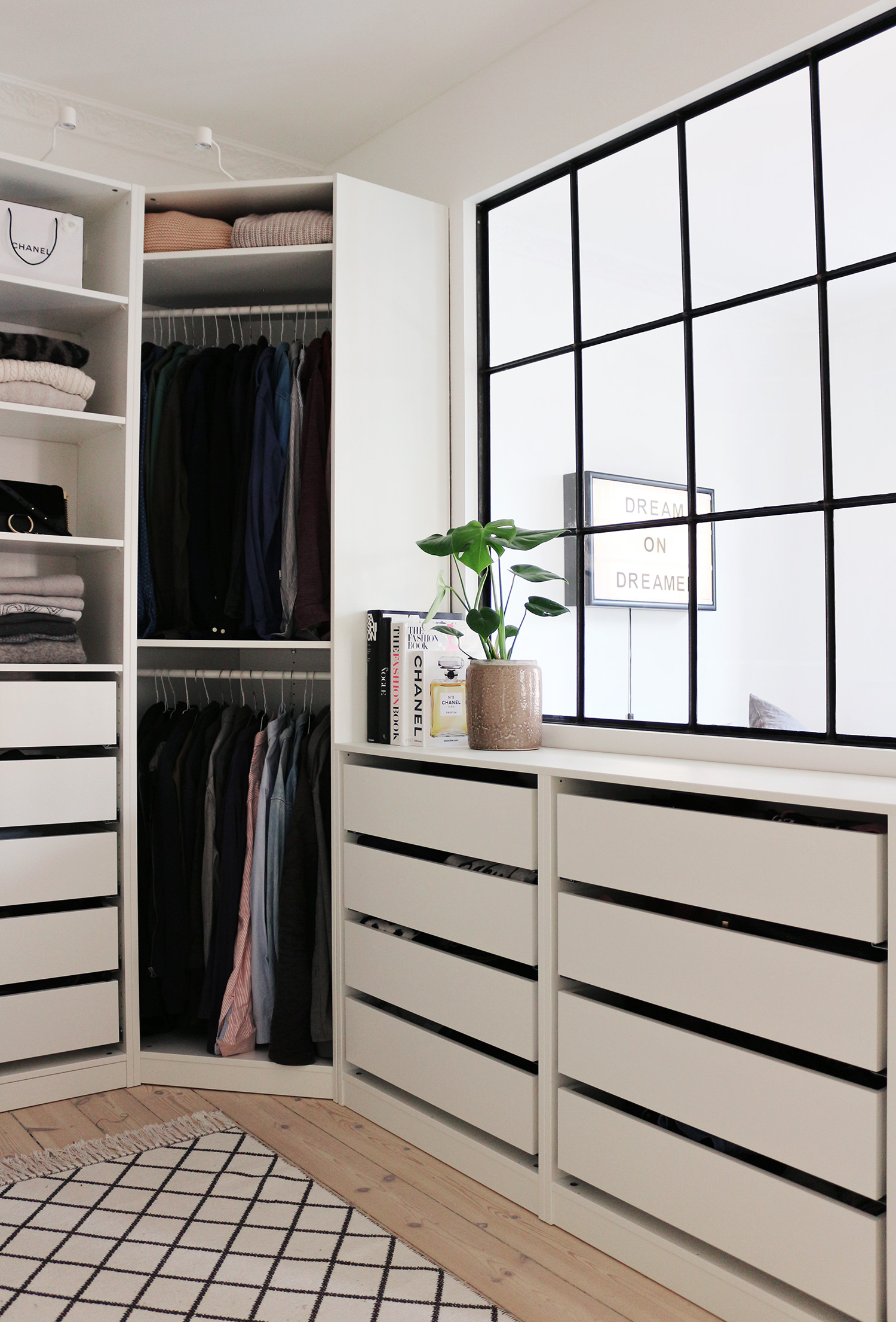 Our Walk In Closet Is Done Christina Dueholm