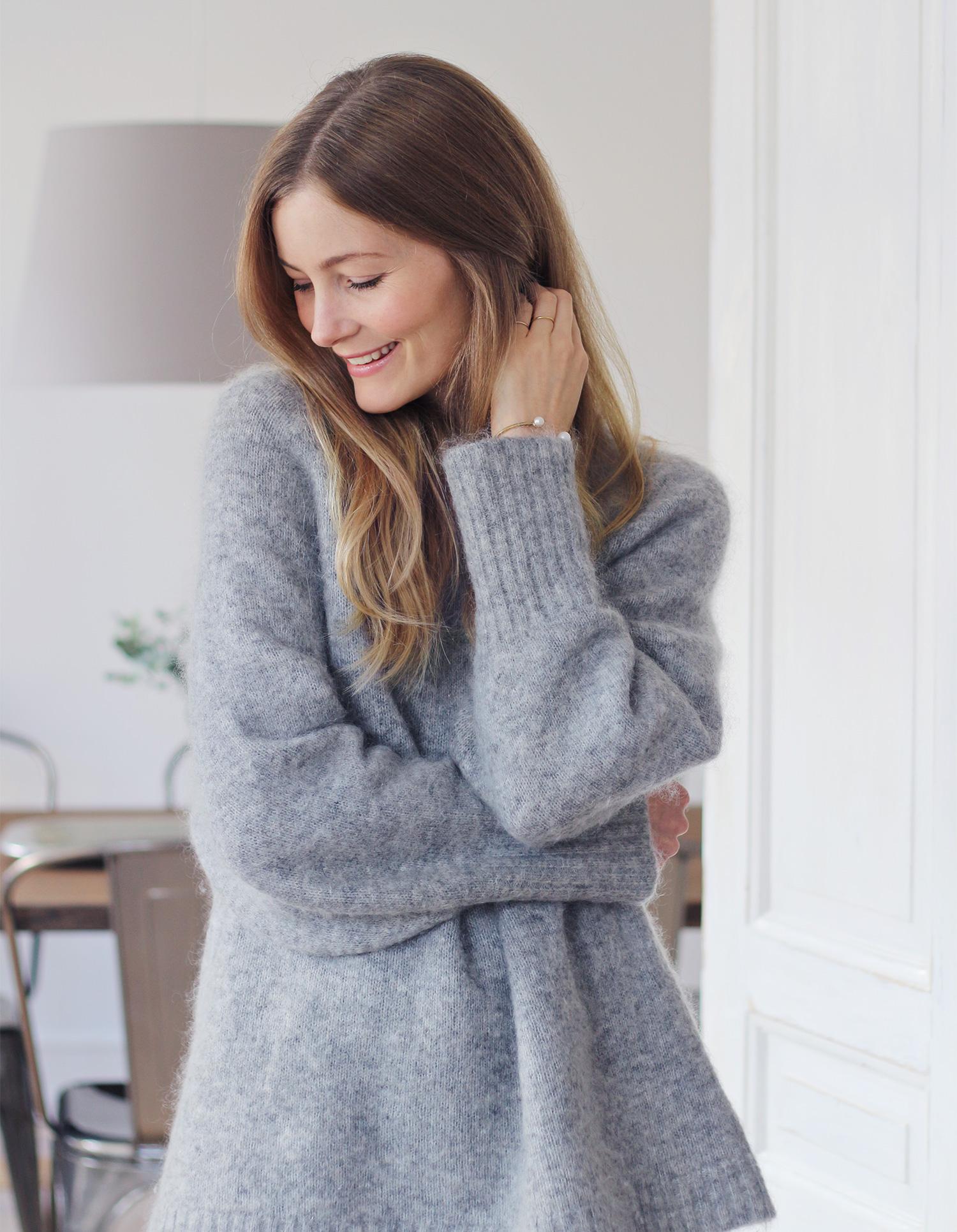 grå-sweater