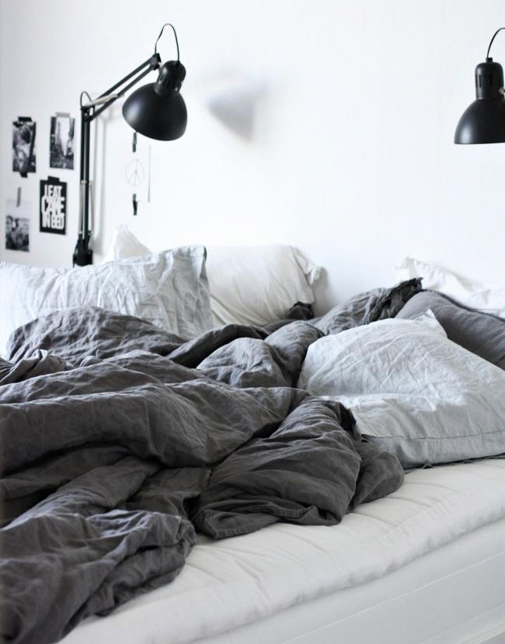 hør-sengetøj