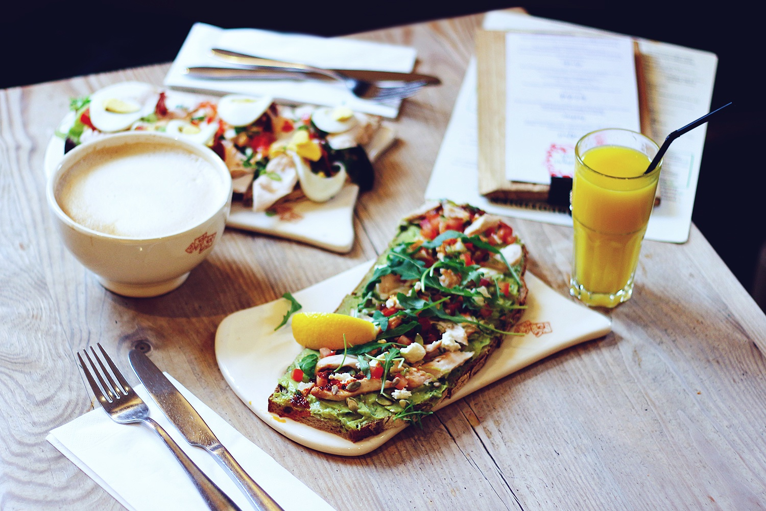 le pain quotidien, morgenmad london