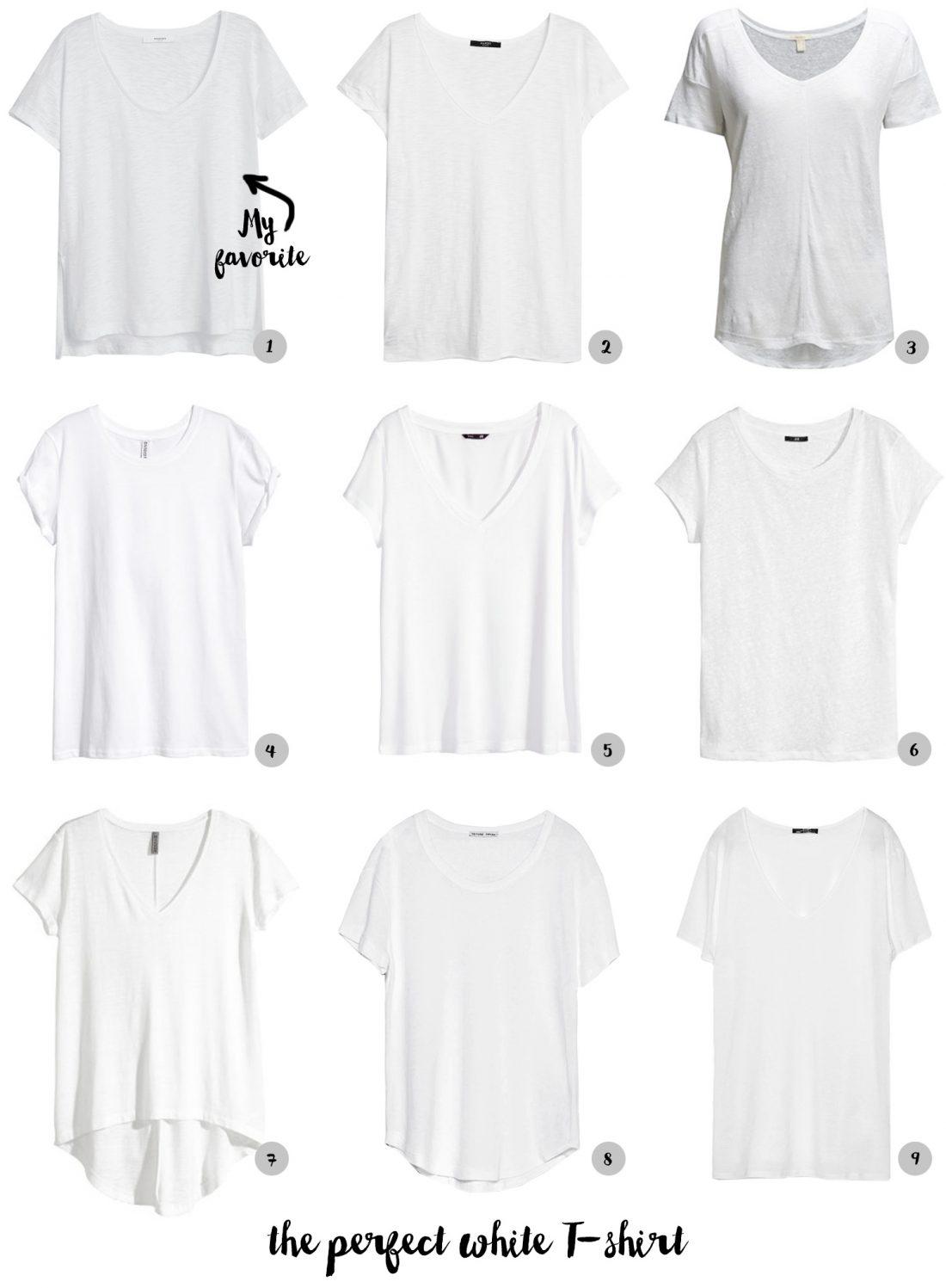 Perfect White Tee Shirt | Is Shirt