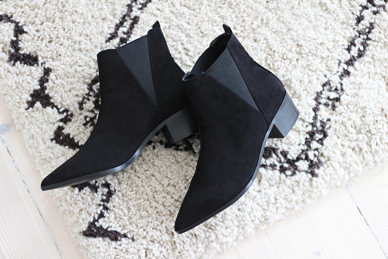 sorte-ankelstøvler