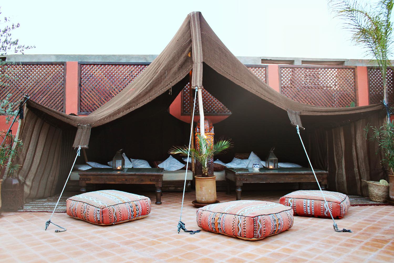 marokkansk-telt
