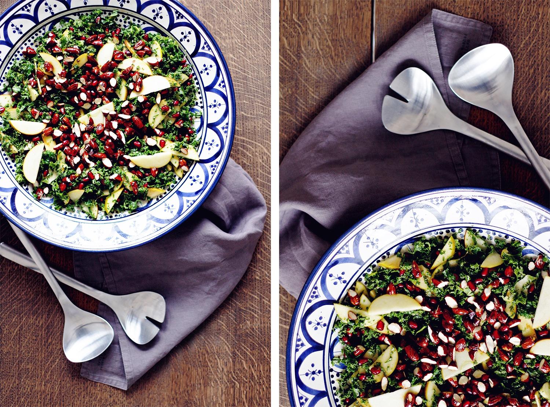 grønkåls-salat