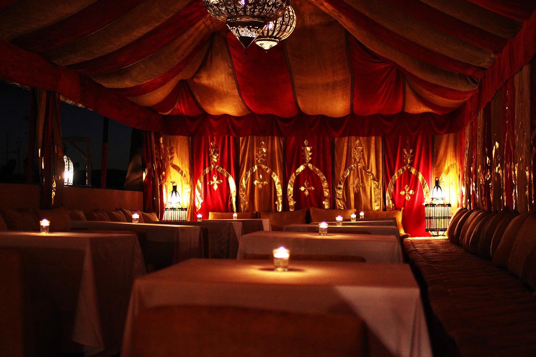 morokkansk-telt