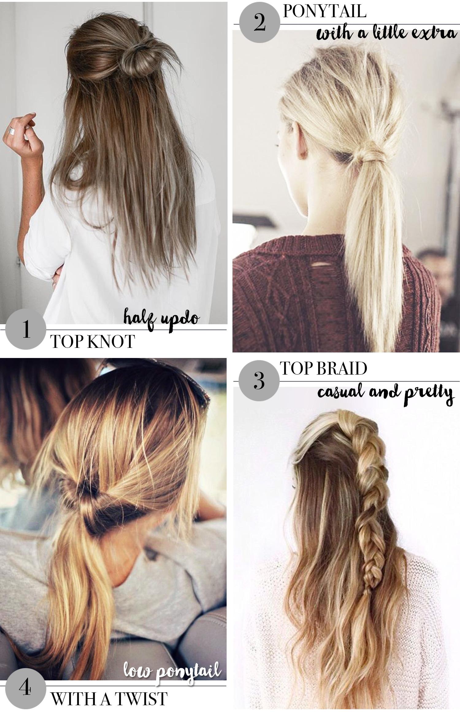 nem opsætning af mellemlangt hår