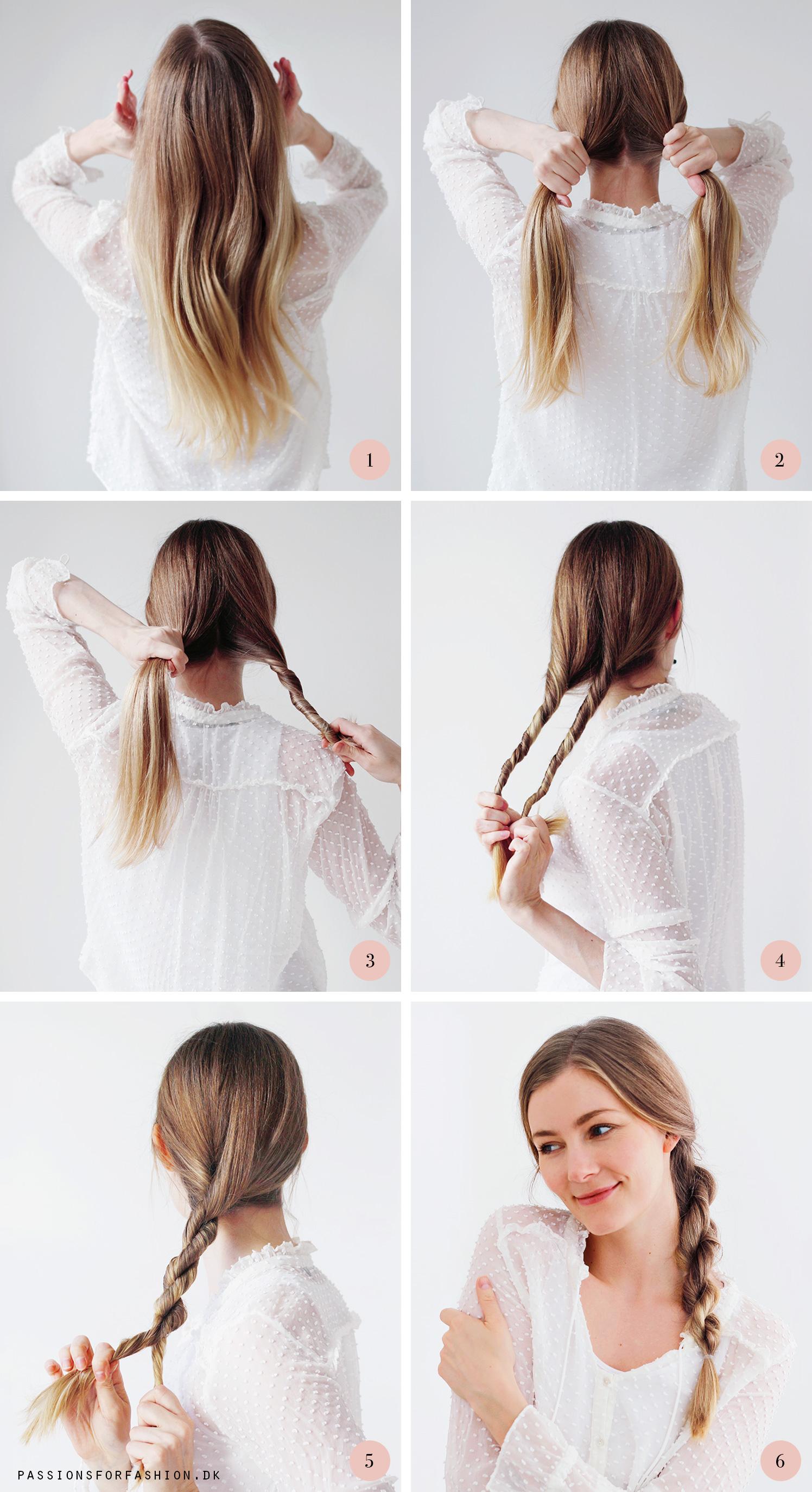 hvordan skal jeg sætte mit hår