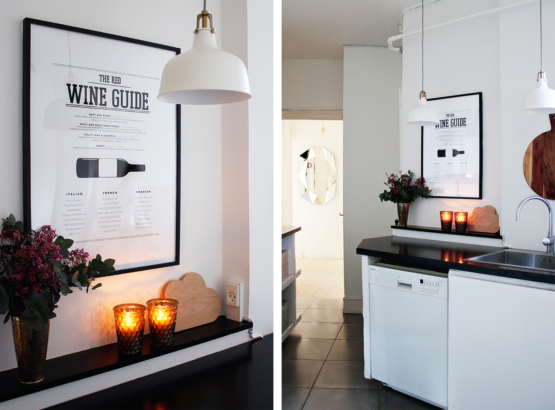 køkken-plakat