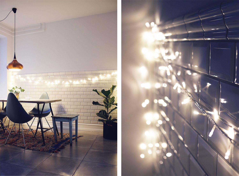lyskæde indendørs