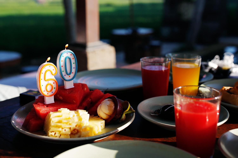 fødselsdagslys